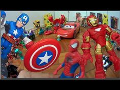 Capitão América x Homem de Ferro Homem Aranha Spider Man  Playskool Guer...  #homemaranha #aranha #spider #spiderman #eterparker #avengers #vingadores #toys #toys #おもちゃ #barbie #dolls #doll #kids #kids  #puppet #babyalive #lego #imaginext #marvel #DC #Comics #escola #school #educação #education #kid #kids #lol