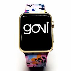 Spring 2016 collection  Fashion Apple Watch Band @goviloop  #applewatch #iphone #fashionassecories #spring #summer #freeshipping #eshop #nadiaflowerdesign #pink #flowers #smartwatch