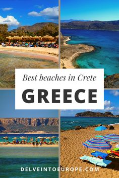 Dreaming of Greece, take a look at some of the most beautiful beaches in Greece.