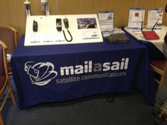 MailaSail came to chat to participants about satcoms onboard #CCR2014