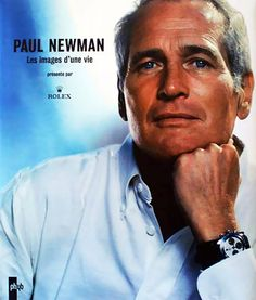 """It is said that Paul Newman wore this Rolex Daytona watch until his death in 2008 and had done so since 1972. The watch was given to him by his wife, Joanne Woodward. The """"Holy Grail"""" of collectible watches."""