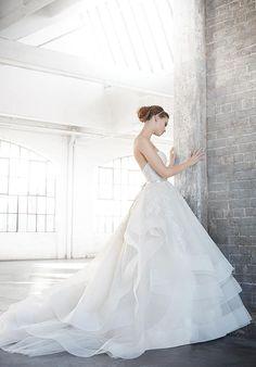 Lazaro 3601 Wedding Dress - The Knot