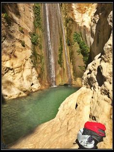 Things To Do in Lefkada, Greece: Take a dip in the freezing water of Nydri waterfalls. Stuff To Do, Things To Do, Greece Travel, Waterfalls, Dip, London, Facebook, Gravy, Things To Make