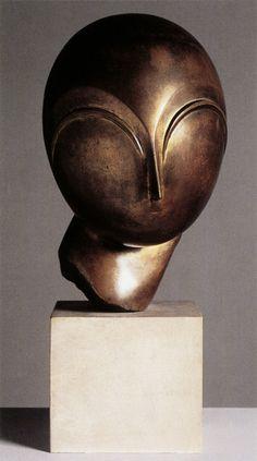 scandinaviancollectors:  Constantin Brancusi, Danaïde, 1913. Bronze on limestone base.Photo by Tate Gallery.