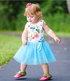 Summer TuTu dress for toddlers