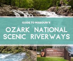 All about visiting Ozark National Scenic Riverways in Missouri, the first national park to protect and preserve a river for future generations. Ozark National Park, National Park Passport, National Parks, Camping Tours, Canoe Camping, Float Trip, Water Activities, Park Service, Travel Information