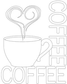 New Free Embroidery Patterns coffee Tips So you have learned most the standard connected with stitches, obtained online stitches courses as well as gi Coloring Book Pages, Printable Coloring Pages, Coloring Sheets, Embroidery Patterns Free, Embroidery Designs, Knitting Patterns, String Art Patterns, Wood Burning Patterns, Mug Rugs