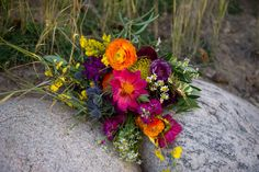 Flowers by Lace and Lilies, Bridal Bouquet, Colorado Wedding, Mountain Wedding, Colorful Wedding Flowers, Countdown to 2016 // Best of 2015: Bouquets — Lace and Lilies