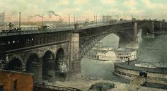 Eads Bridge, St. Louis/East St. Louis