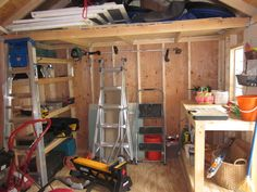 1000 images about storage shed on pinterest shed for How much to build a garage with loft