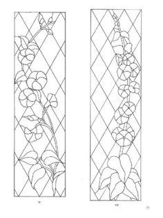 page61Dover's door stained glass patterns