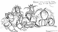 Oh gods poor Hiccup! This entire thing is hilarious but I think I like Ruffnut's reaction the best. :)