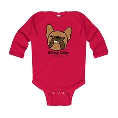 Thug Life Baby Long Sleeve Bodysuit