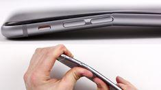 Apple iPhone bending