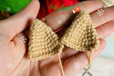 Here is one more Christmas deer amigurumi pattern to your attention! Put this cute deer amigurumi under the Christmas tree and delight your loved ones! Love Crochet, Crochet Toys, Christmas Deer, Crochet Bikini, Crochet Earrings, Crochet Patterns, Knitting, Blog, Handmade