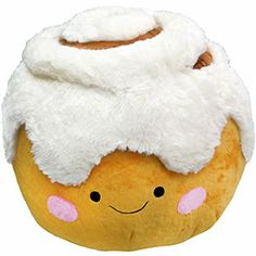 Squishable Cinnamon Bun: An Adorable Fuzzy Plush to Snurfle and Squeeze! on Wanelo