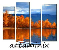 Lake #Autumn #tree #nature #cute #mountain