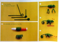 Finger Puppet Craft With Pipe Cleaners Pom Poms And