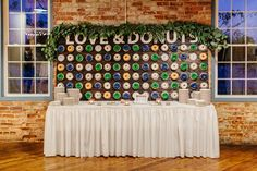 We now have a donut wall! Photo by CK Photo