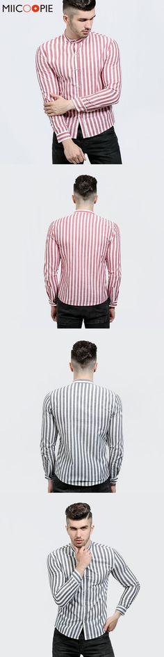 Luxury Brand Men Dress Shirts Classic Striped Long Sleeve Business Formal Shirts Male Casual Shirts Masculina Camisas Hawaiian