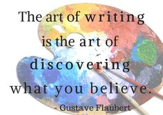the art of writing #selfdiscovery