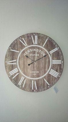 Grote houten klok XL