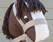 Hobby Horse Pattern Stick Horse Pattern Tutorial. $8.00, via Etsy.