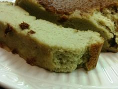 Garbanzo Bean Pound Cake -- have to try this using Agave or Maple syrup in place of Splenda.
