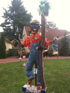 peddlers village scarecrow - Google Search