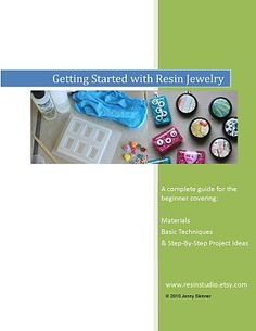 Resin jewelry tutorial