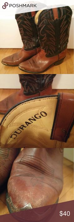 🎉Price Drop🎉Durango Cowboy boots-Made in USA Worn a few times- still in good condition Durango Shoes