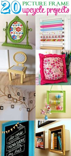 Main Ingredient Monday- 20  Picture Frames  #crafts #frames