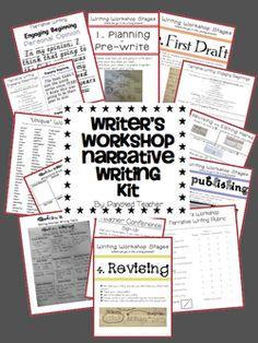 Writer's Workshop Narrative Writing Kit