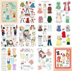 paper doll nursery ryhme - Google Search