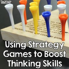 Using Strategy Games