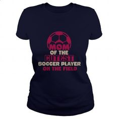 Mom Of The Cutest Soccer Player On The Field Great Gift For Any Soccer Mom - #college sweatshirts #silk shirt. I WANT THIS => https://www.sunfrog.com/Sports/Mom-Of-The-Cutest-Soccer-Player-On-The-Field-Great-Gift-For-Any-Soccer-Mom-Navy-Blue-Ladies.html?60505