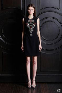 Increíbles vestidos cortos de moda | Colección vestidos Naeem Khan