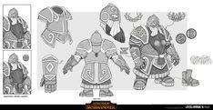 Fantasy Dwarf, Fantasy Armor, Medieval Fantasy, Character Concept, Character Art, Concept Art, Character Ideas, Warhammer Dwarfs, Dwarf Costume