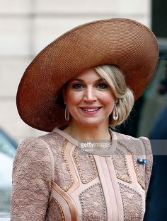 Queen Maxima of the Netherlands leaves after a meeting with French President Francois Hollande at the Elysee Presidential Palace on March 10, 2016 in Paris, France. Queen Maxima and King Willem-Alexander are on a two-day state visit in France. (Photo by Chesnot/Getty Images)