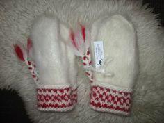 Knitted Mittens Pattern, Crochet Mittens, Knitting Patterns, Knit Crochet, Fingerless Mitts, Fair Isle Knitting, Drops Design, Crochet Accessories, Diy And Crafts