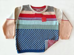 ALL Knitwear by Annie Larson. Knitting machine craziness!