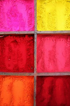 Coloured pigments by Mr Andrew Murray, via Flickr