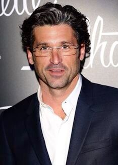 Patrick Dempsey as Professor Coenraad van Essen - dark, handsome, blue eyes, beaky nose.  Coenraad wore glasses because as a boy, he had been struck by a Nazi rifle butt.