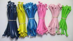 Tiras em diferentes cores para personalização de chinelos - www.facebook.com/chinelosjaragua