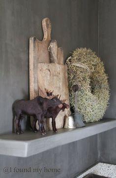 I found my home Rustic Christmas, Christmas Time, Norwegian Vikings, Moose Decor, Autumn Decorating, Halloween Season, Christmas Decorations To Make, Home Deco, Sober