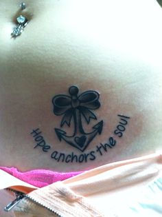 1000 images about anchors on pinterest anchor tattoos for Hope anchors the soul tattoo