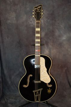 Today, Lawman Guitars is Presenting...A 1950's Made in Germany Arnold Hoyer Herr im Frack Super RARE Archtop Guitar with a period correct German Framus Pickup that sounds great!!! ..This guitar has been floating around Des Moines IA for awhile now. I got it from one of my Pro Player finders and h...