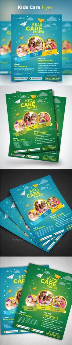 School Activities Flyer Templates Flyer template, Brochures and - daycare flyer