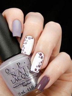 The 31 Best Inspirations for Fall Nail Art Designs That .- The 31 best inspirations for autumn nail art designs that you can easily try out at home – Nails and hair – Dot Nail Art, White Nail Art, Nail Art Diy, Diy Nails, Shellac Nails, Gel Nail, Uv Gel, Nail Manicure, White Nails