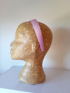 Satin covered 3 cm Barely pink Alice band - millinery supplies Millinery Supplies, Alice Band, Fascinator, To My Daughter, Burgundy, Velvet, Satin, The Incredibles, Trending Outfits
